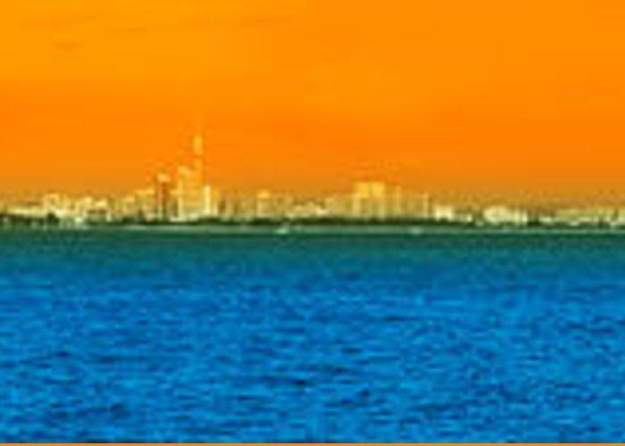 Asean Greeting Card featuring the photograph Pattaya Scenic by Atiketta Sangasaeng