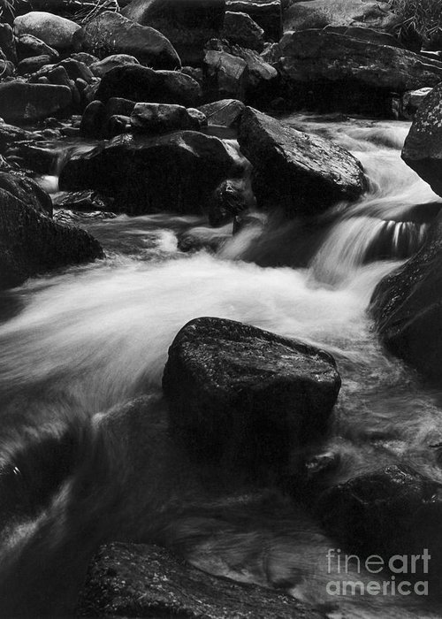 Creek Greeting Card featuring the photograph Richland Creek by Garry McMichael