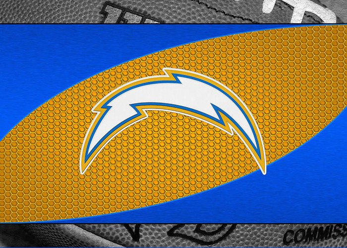 Chargers Greeting Card featuring the photograph San Diego Chargers by Joe Hamilton