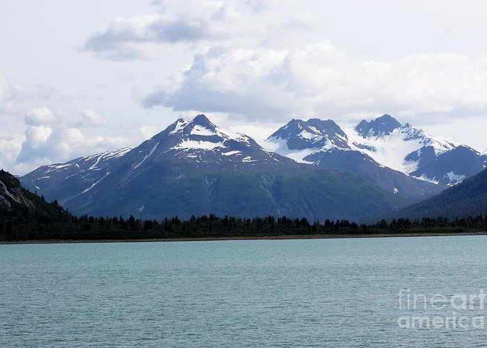 Alaska Greeting Card featuring the photograph Scenic Alaska by Sophie Vigneault