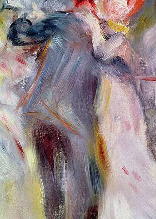 Impressionist Greeting Card featuring the painting The Dance In The Country by Pierre Auguste Renoir