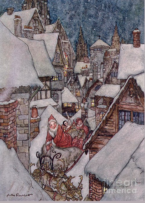 Arthur Rackham Greeting Cards
