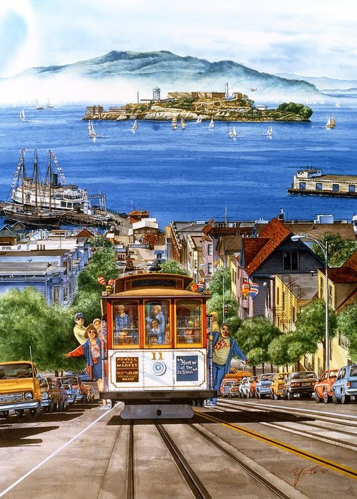 Image Of San Francisco Greeting Cards