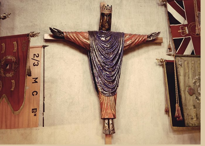 Church Greeting Card featuring the photograph Church Jesus by Girish J