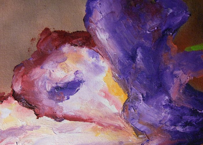 Abstract Greeting Card featuring the painting Art By Lyle by Lord Frederick Lyle Morris