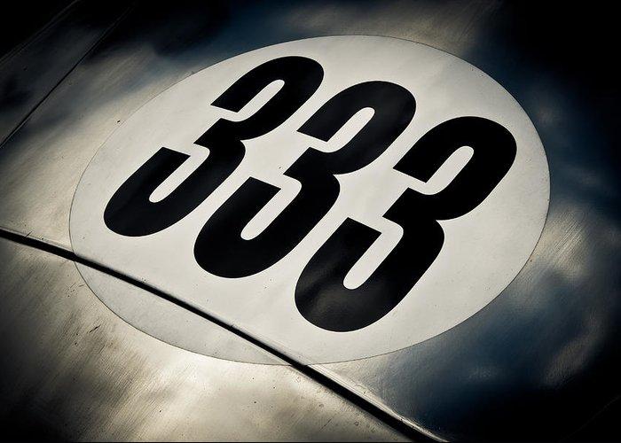Racecar Number Greeting Cards