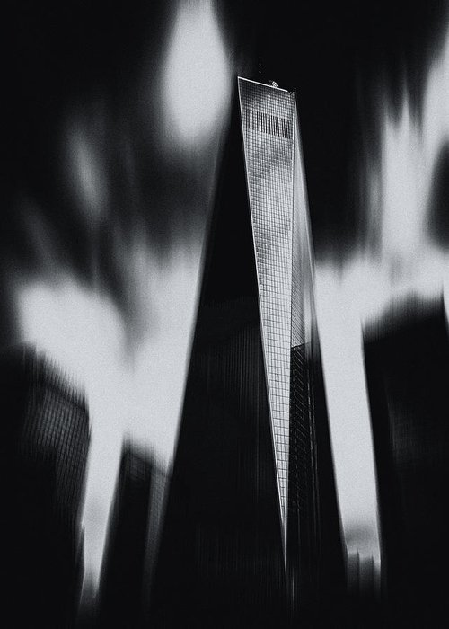 Tower Greeting Card featuring the photograph Untitled by Massimo Della Latta