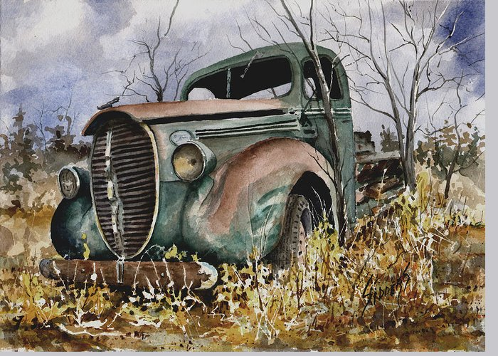 39 Ford Greeting Cards