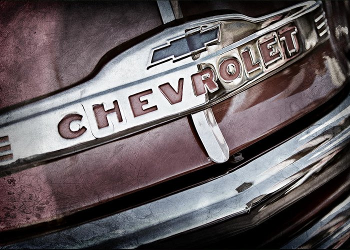 Chevrolet Pickup Truck Photographs Greeting Cards