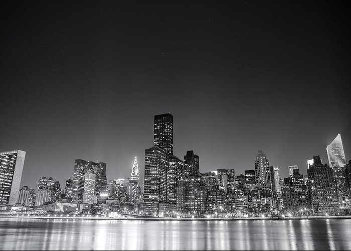 Nyc Greeting Card featuring the photograph New York City by Vivienne Gucwa