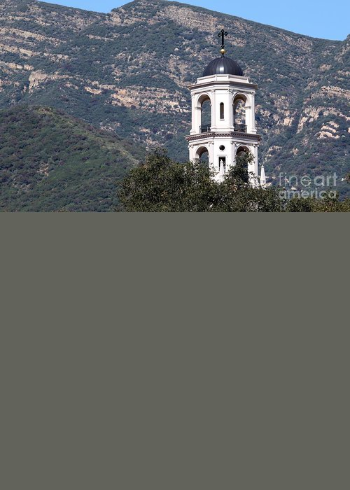 Architecture Greeting Card featuring the photograph Thomas Aquinas Chapel by Henrik Lehnerer