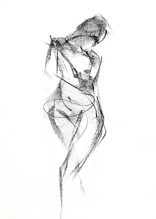 Figure Drawing Greeting Cards