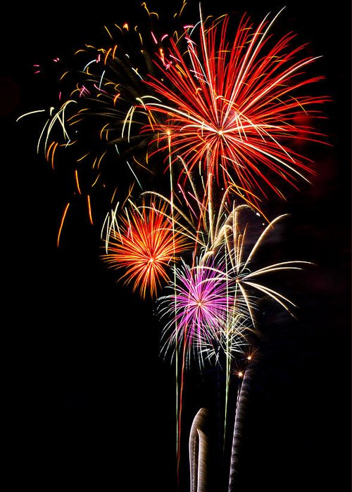 July 4th Greeting Card featuring the photograph 4th Of July 2012 by Saija Lehtonen