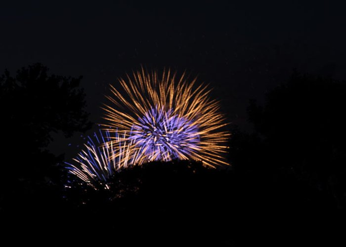 Washington Greeting Card featuring the photograph 4th Of July Fireworks - 011315 by DC Photographer