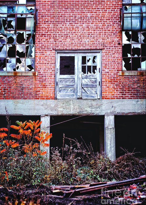 Abandoned Mill Greeting Cards