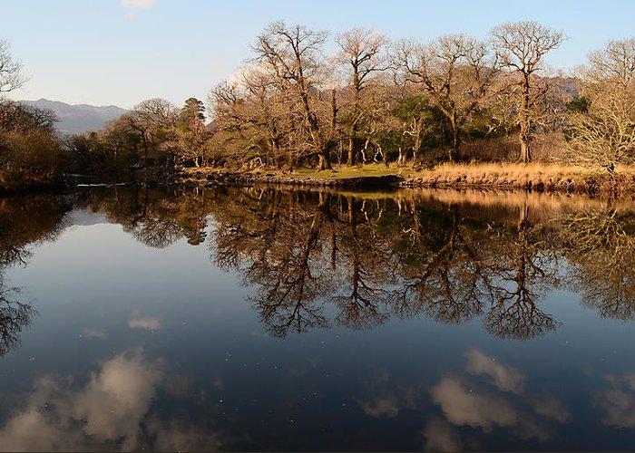 River Greeting Card featuring the photograph Killarney National Park by Barbara Walsh