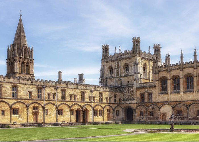 University Of Oxford Greeting Cards