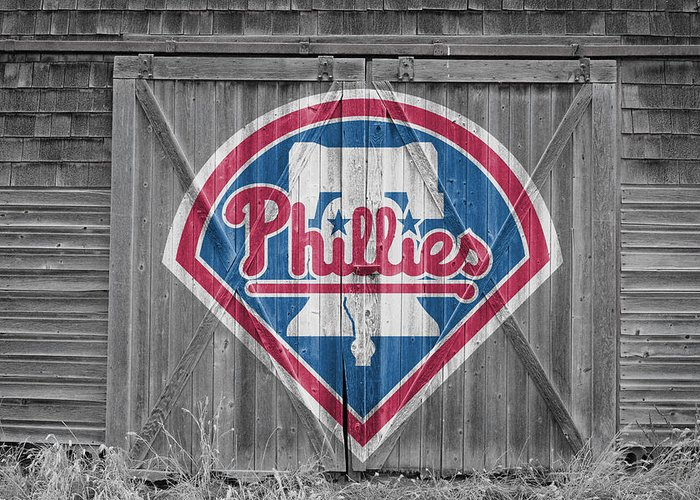 Phillies Greeting Card featuring the photograph Philadelphia Phillies by Joe Hamilton