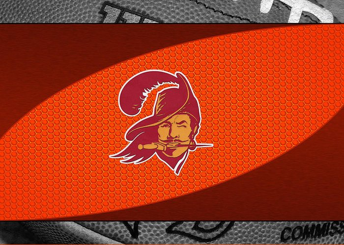 Buccaneers Greeting Card featuring the photograph Tampa Bay Buccaneers by Joe Hamilton
