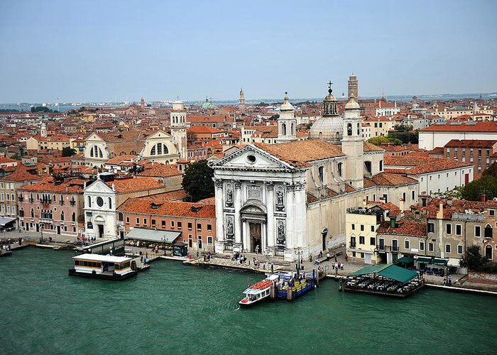 Venice Greeting Card featuring the photograph Venice Italy by John Jacquemain