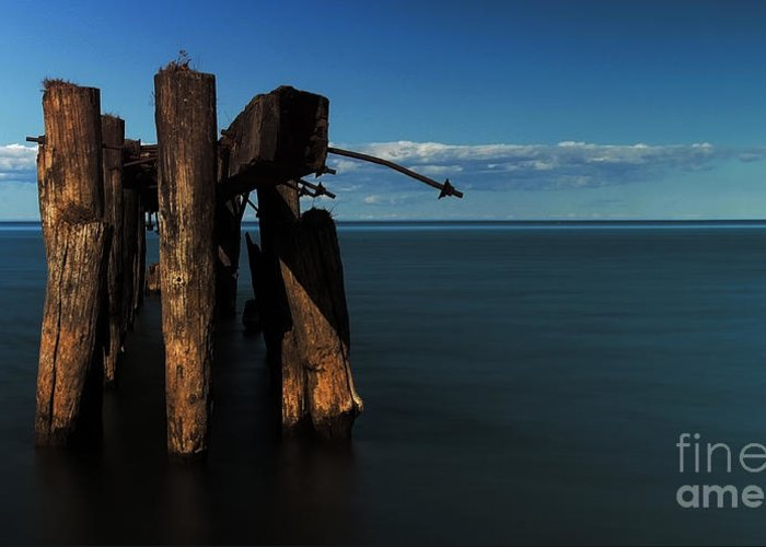 Lake Ontario Canada Greeting Card featuring the photograph 50 Point by Ken McCormick