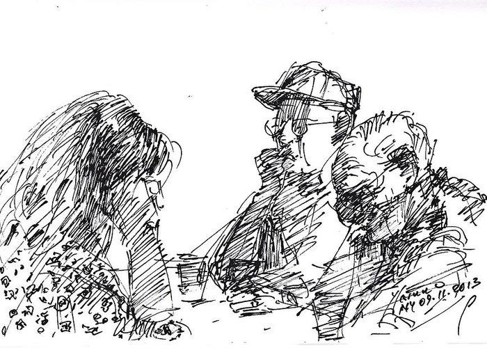 Tim Drawings Greeting Cards