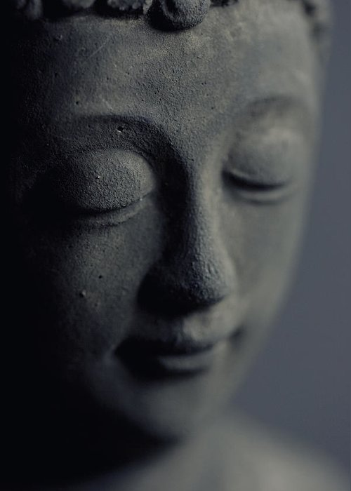 Asien Greeting Card featuring the photograph Buddha by Falko Follert