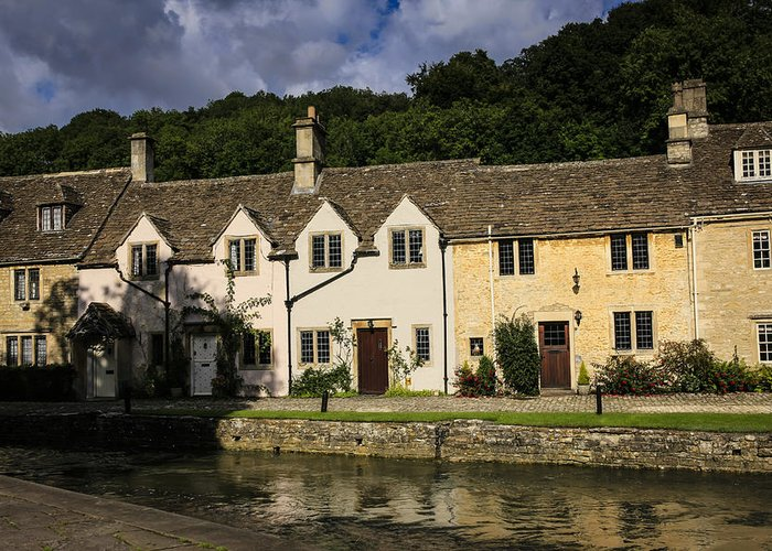 Castle Combe Greeting Card featuring the photograph Castle Combe by Chris Smith