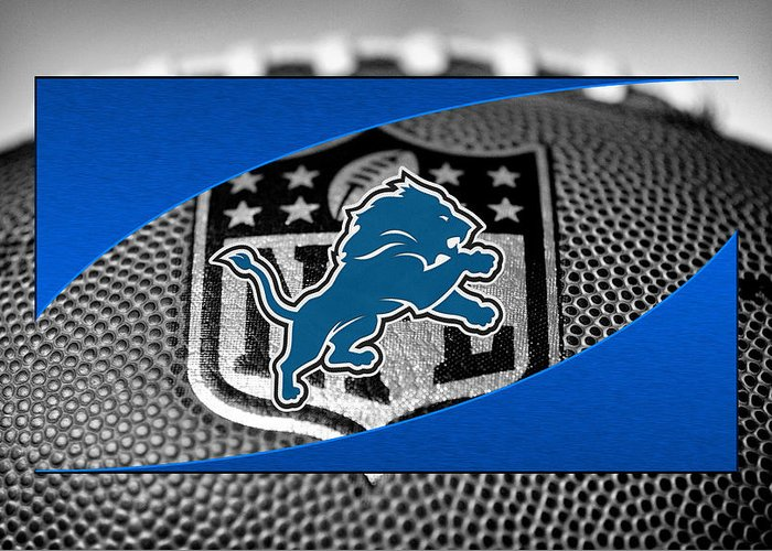 Lions Greeting Card featuring the photograph Detroit Lions by Joe Hamilton