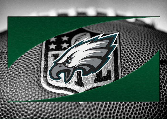Eagles Greeting Card featuring the photograph Philadelphia Eagles by Joe Hamilton