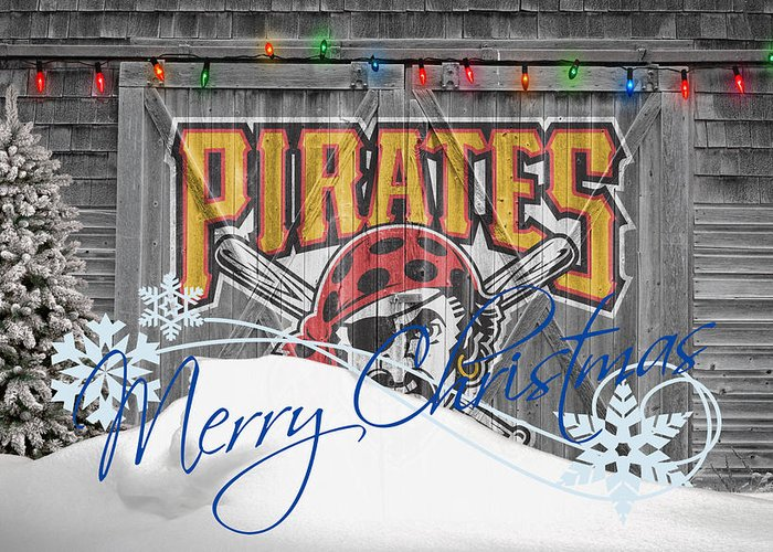 Pirates Greeting Card featuring the photograph Pittsburgh Pirates by Joe Hamilton