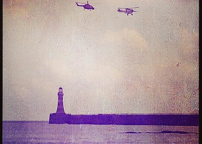 Helicopter Greeting Cards