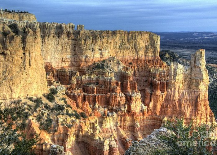 Bryce Canyon Greeting Card featuring the photograph Bryce Canyon by Marc Bittan