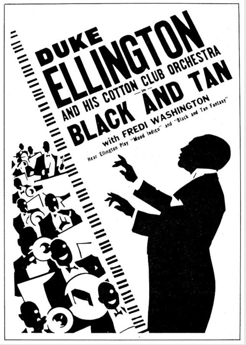 1930 Greeting Card featuring the painting Duke Ellington (1899-1974) by Granger