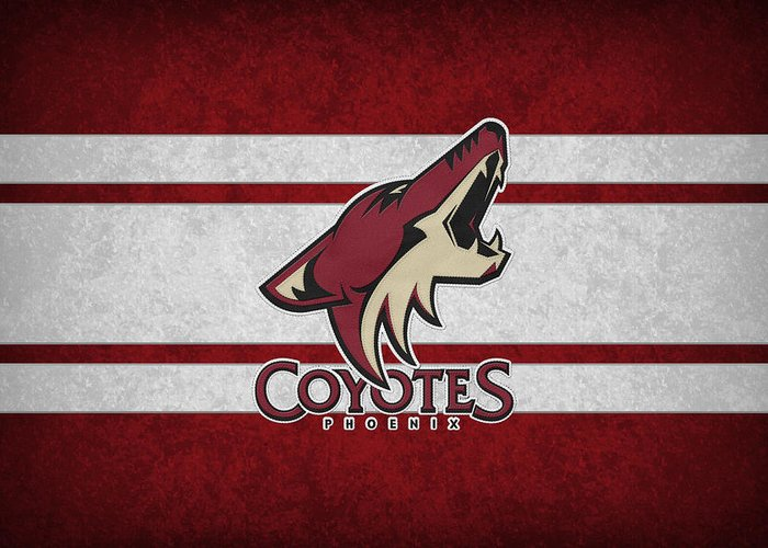 Phoenix Coyotes Greeting Cards