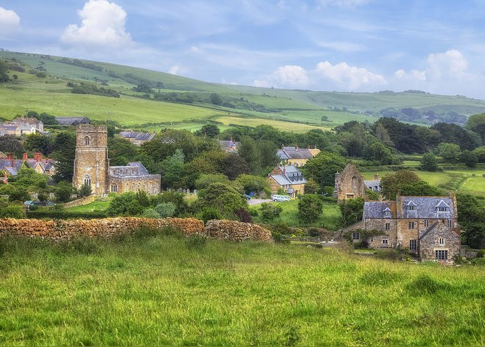 Abbotsbury Greeting Card featuring the photograph Abbotsbury by Joana Kruse