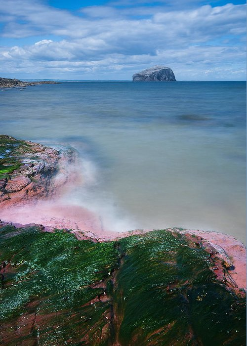 Bass Rock Greeting Card featuring the photograph Bass Rock by Keith Thorburn LRPS AFIAP CPAGB
