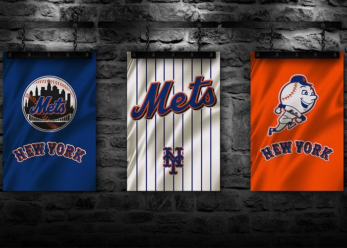New York Mets Greeting Cards