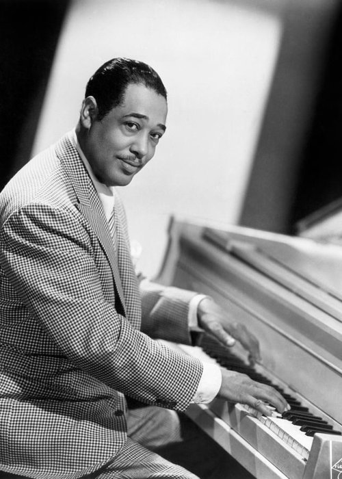 20th Century Greeting Card featuring the photograph Duke Ellington (1899-1974) by Granger