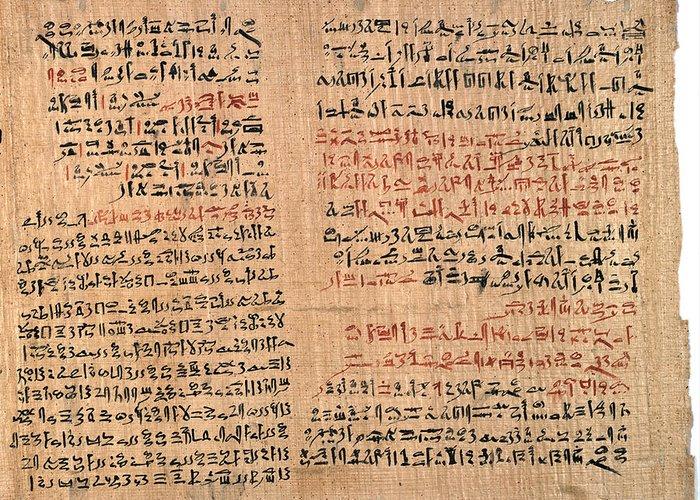 Αποτέλεσμα εικόνας για edwin smith papyrus