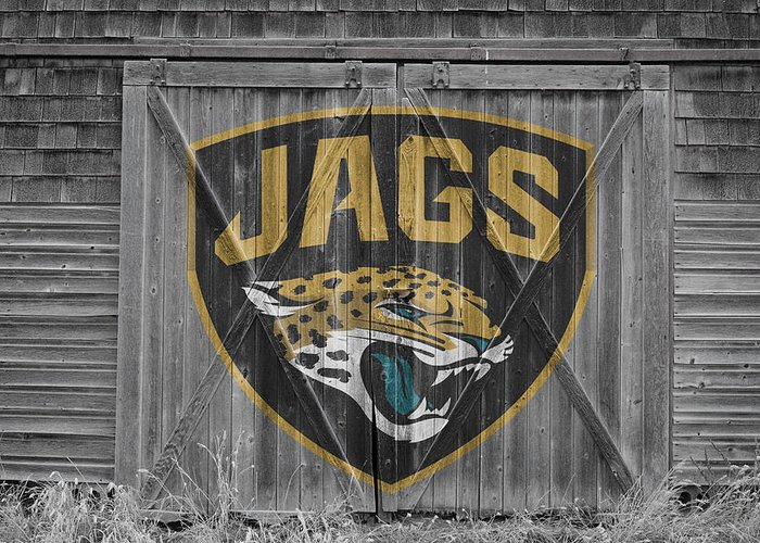 Jaguars Greeting Card featuring the photograph Jacksonville Jaguars by Joe Hamilton