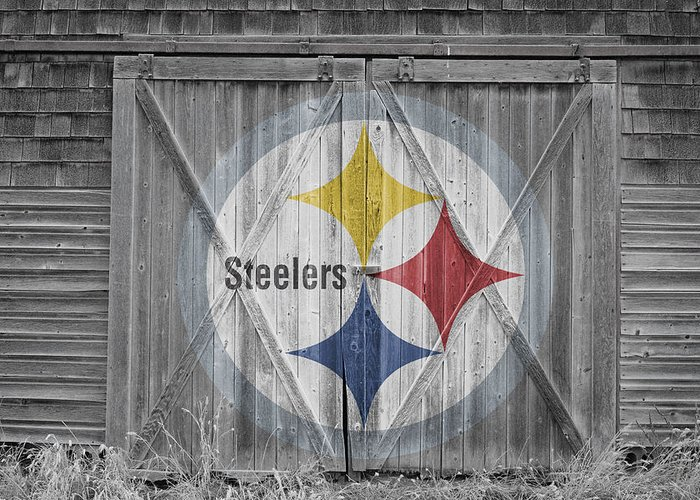 Steelers Greeting Card featuring the photograph Pittsburgh Steelers by Joe Hamilton