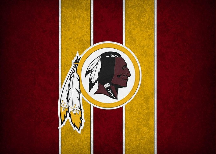 Redskins Greeting Card featuring the photograph Washington Redskins by Joe Hamilton