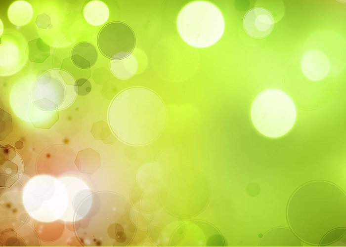 Glow Greeting Card featuring the photograph Abstract Background by Les Cunliffe