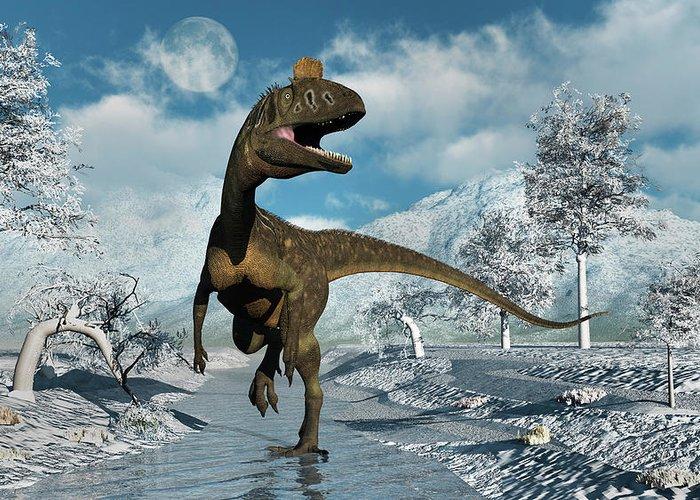 [Image: a-cryolophosaurus-dinosaur-walking-mark-...entation=0]
