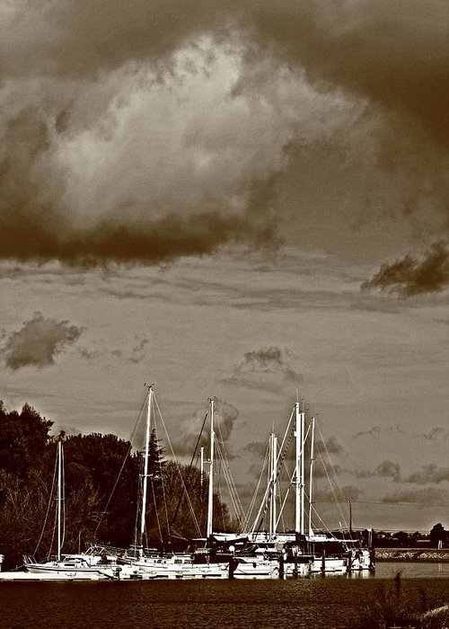 Storms Greeting Card featuring the photograph A Delta Storm by Joseph Coulombe
