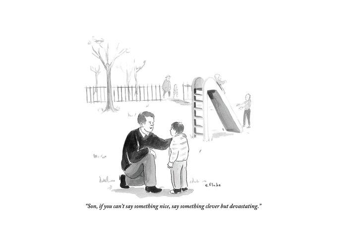 Playground Greeting Cards