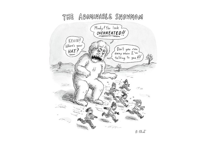 Abominable Snowman Greeting Cards