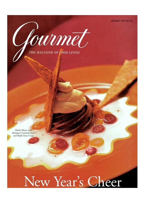 Food Greeting Card featuring the photograph A Gourmet Cover Of Moch Mousse by Romulo Yanes