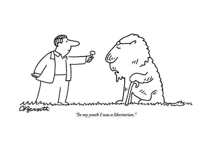 A man holding a microphone to a lion wearing greeting card for sale glasses greeting card featuring the drawing a man holding a microphone to a lion wearing by m4hsunfo